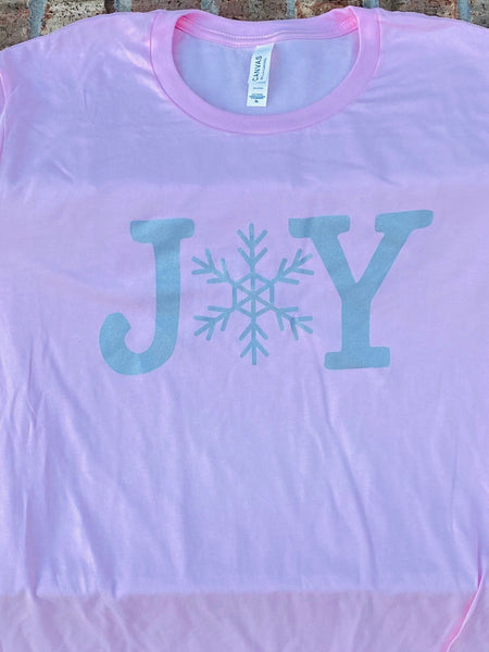 Joy short sleeved tshirt