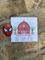 Spider-Man Interchangeable Feltie (Topper Only)
