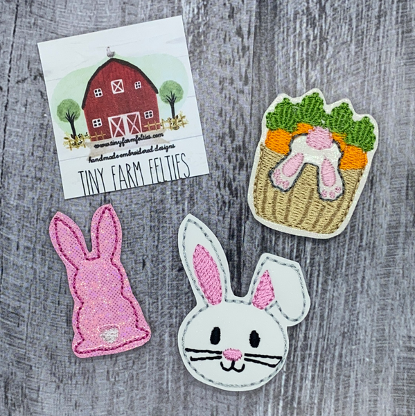 Bunny Interchangeable Felties