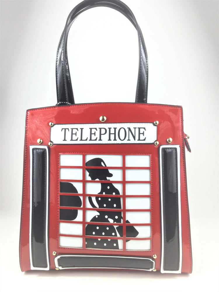 Telephone Box Handbag