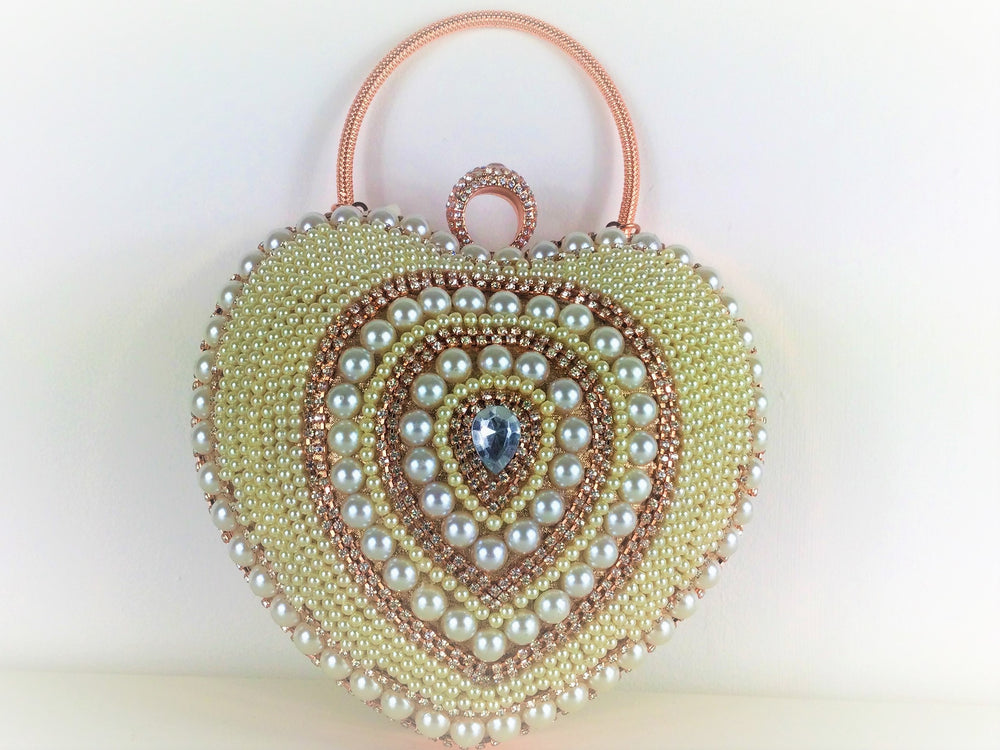 Heart Shaped Clutch Bag