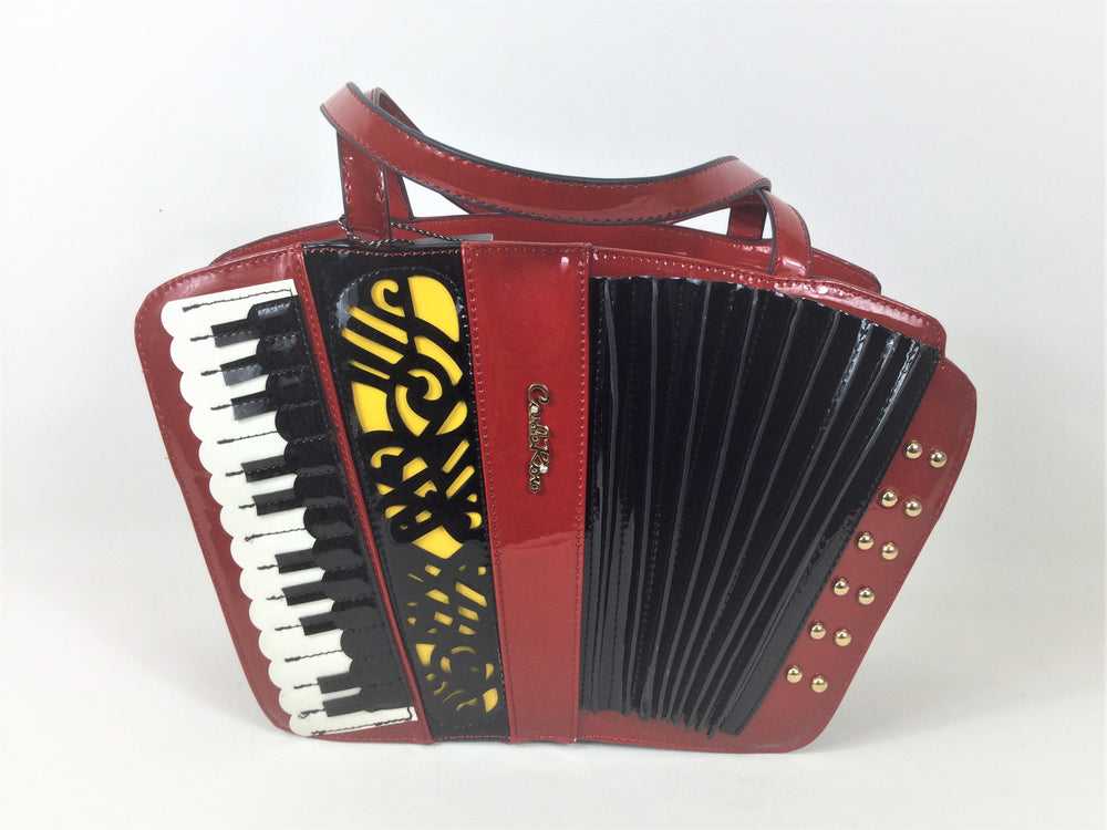 Accordion Shaped Handbag Now on Sale