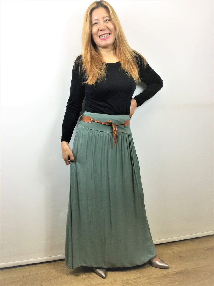 Long Skirt Made in Italy