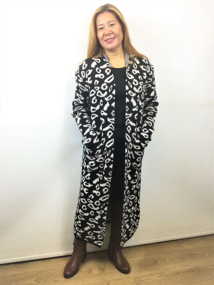 Long Cardigan Made in Italy
