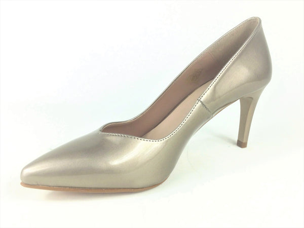 Ladies High Heel Shoe Taupe