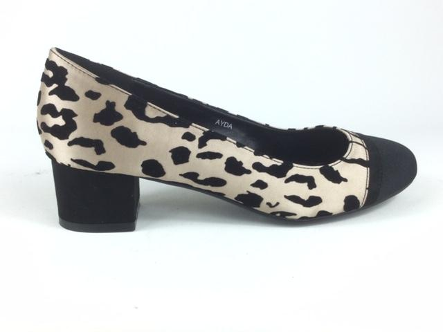 Leopard Court Shoe