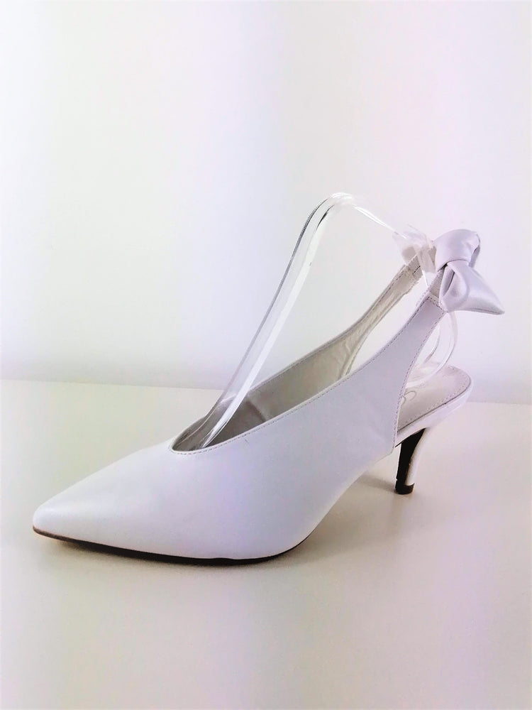 High Heel White Shoe
