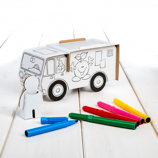 Cardboard Market Cart Set