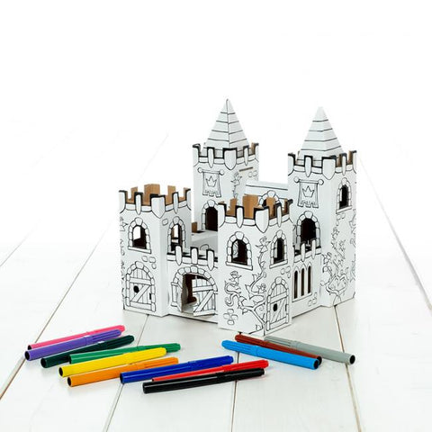 Cardboart Rosegarden Castle Set