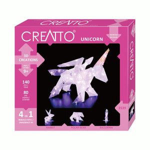 MAXI 3D Creations - Einhorn 4 in 1