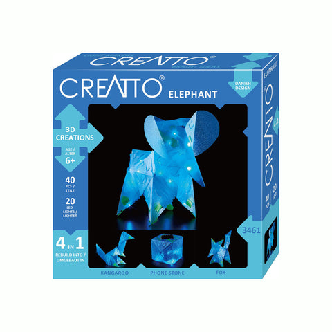 MINI 3D Creations - Elephant 4 in 1