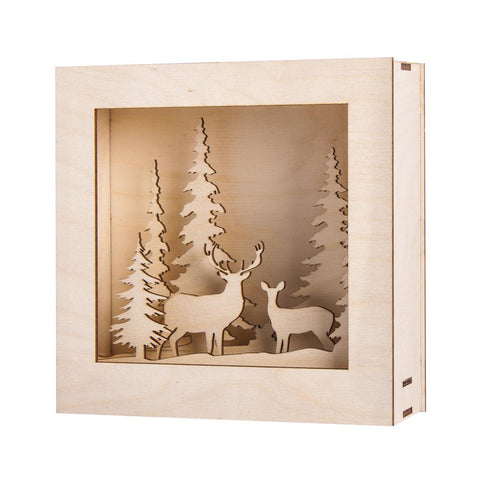 Wooden kit 3D - Winterland