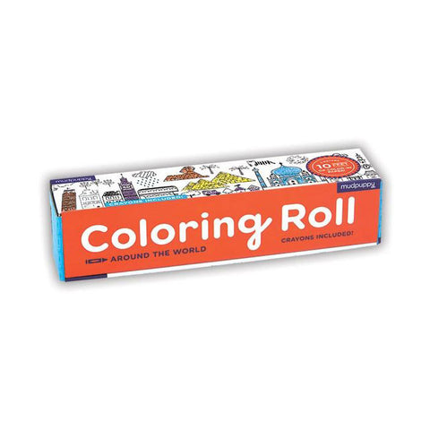 Coloring Roll - Around the World