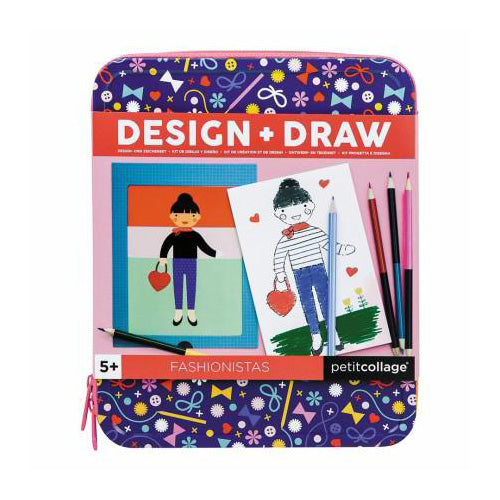 Design & Draw Activity Kit - Fashionista