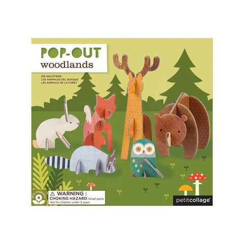 Pop Out - Waldtiere
