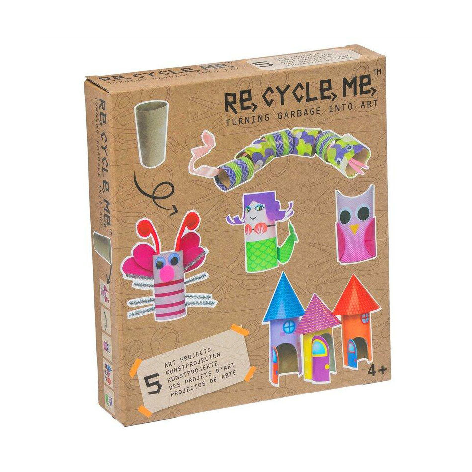 Re Cycle Me - Toilet Rolls Craft Set