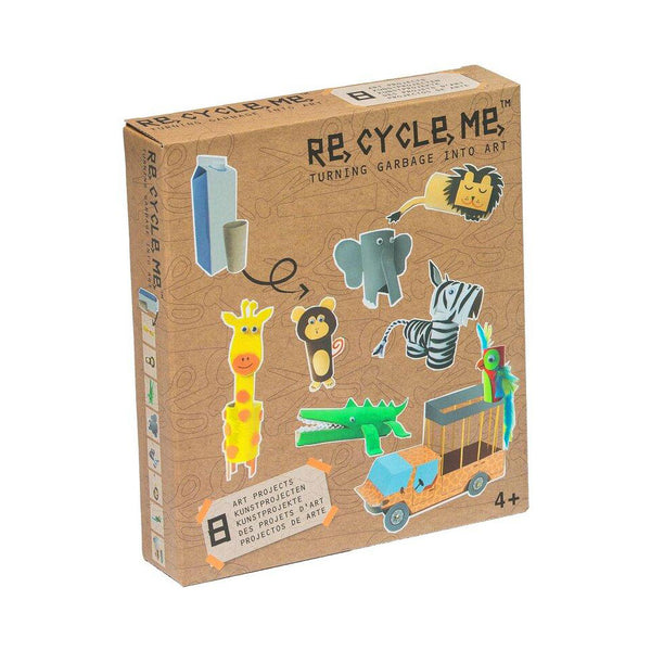 Re Cycle Me - Jungle Craft Kit