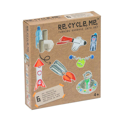 Re Cycle Me - Space World Bastelset
