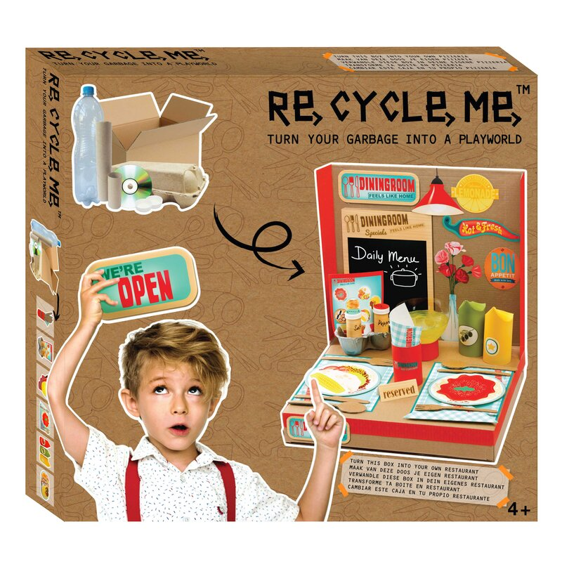 Re Cycle Me - Restaurant Bastelset