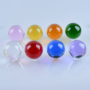 50mm Quartz Crystal Ball Crystal Stand