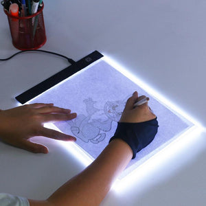 LED Light Pad Artist Tracing Drawing Board