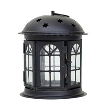 Load image into Gallery viewer, Romantic Antique Iron Candlestick Lantern