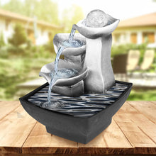 Load image into Gallery viewer, Feng Shui Waterfall Relaxation Fountain
