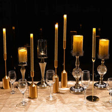 Load image into Gallery viewer, 12 Inch LED Flameless Taper Candle set