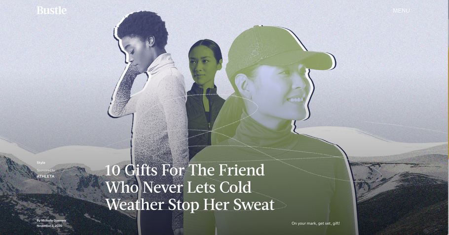 10 Gifts For The Friend Who Never Lets Cold Weather Stop Her Sweat