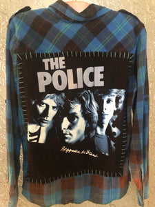 The Police Upcycled Flannel