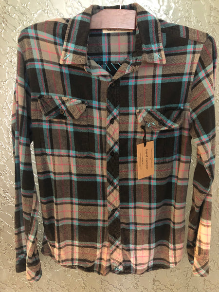 Foo Fighters Upcycled Flannel