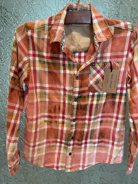 The Doobie Brothers Upcycled Flannel