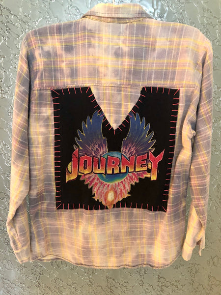 Journey Upcycled Flannel