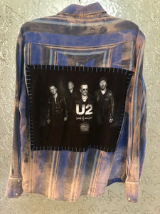U2 Upcycled Flannel