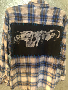 Coldplay Upcycled Flannel