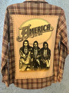 America Upcycled Flannel