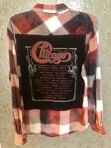 Chicago Upcycled Flannel