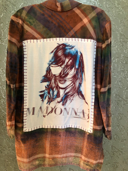 Madonna Upcycled Flannel