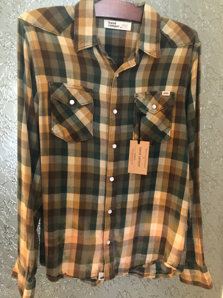 Zac Brown Upcycled Flannel