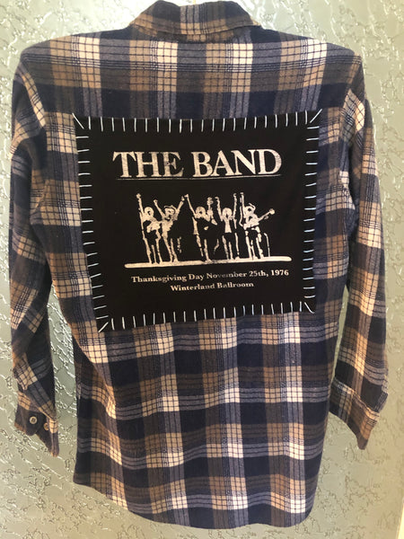 The Band Upcycled Flannel