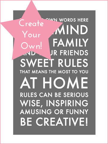 Personalized Word Art Styles My Lovely Words