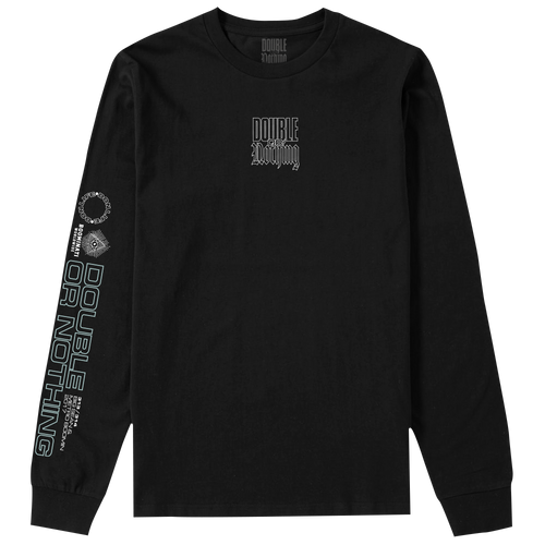 Double or Nothing Even The Odds Long Sleeve Tee