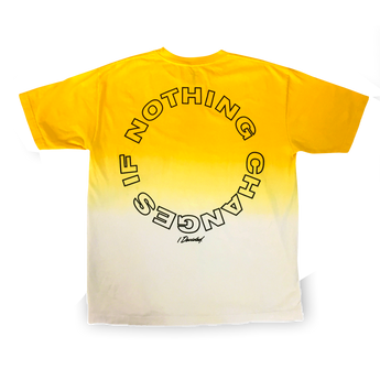 Big Sean I Decided Dip Dye Yellow T-Shirt