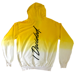 Big Sean I Decided Dip Dye Yellow Hoodie