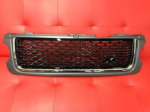 Grey & Black Autobiography Front Grille for Range Rover Vogue 2010 - 2012