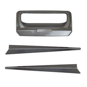CARBON FIBRE Tailgate Trim for Ford Ranger T6 2012-2015 & 2016+