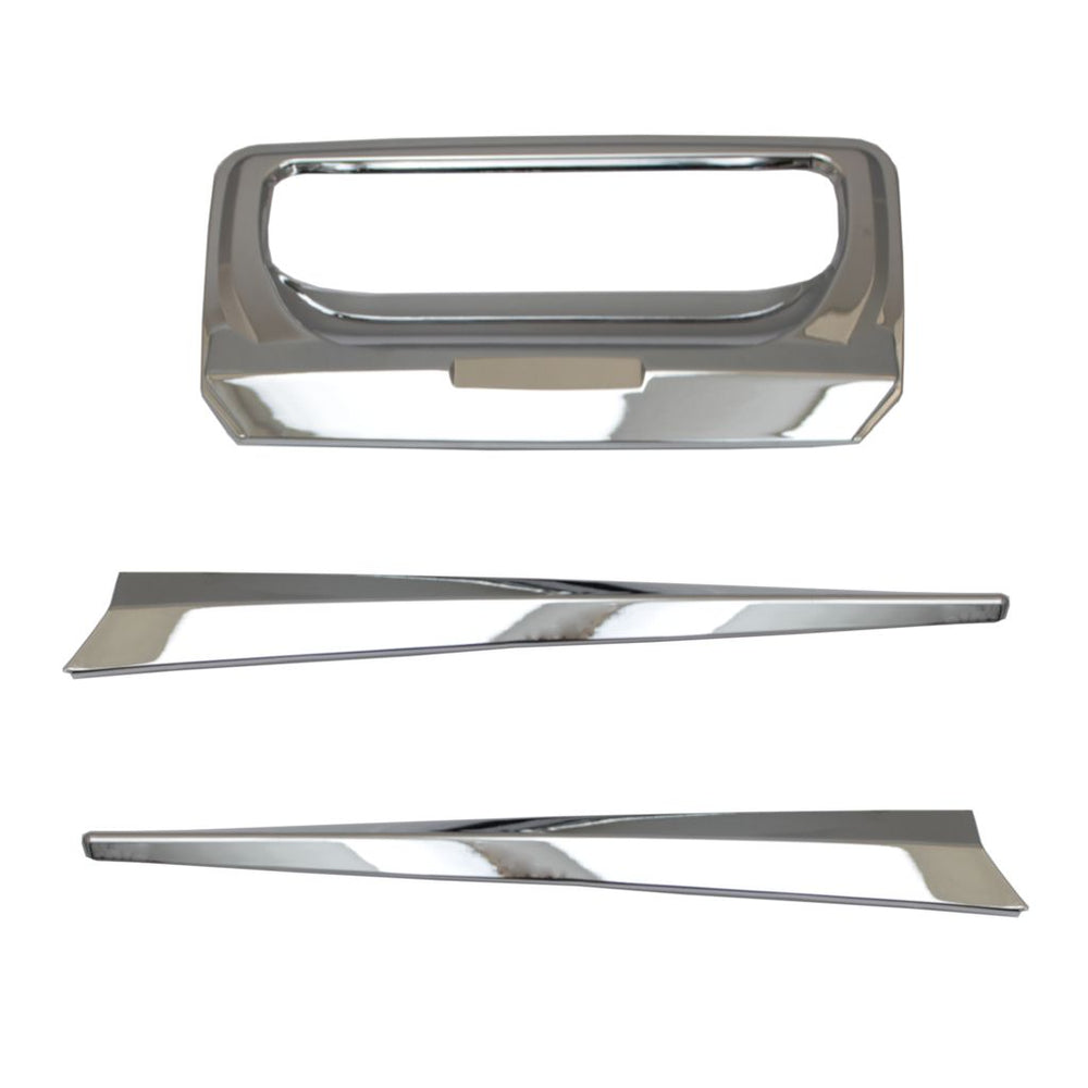 CHROME Tailgate Trim for Ford Ranger T6 2012-2015 & 2016+