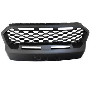 Matte Black XO Stealth Grille for Ford Ranger T6 MK3 2019+ WILDTRAK Models
