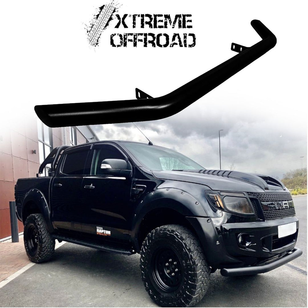 Gloss Black Lower Nudge Bar / City Bar / Chin Bar for Ford Ranger T6 2012-2015