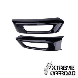 Gloss Black Fog Light Covers for Range Rover Sport 2014-2017